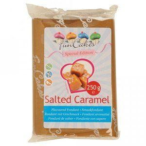 FunCakes Pâte à sucre goût Caramel Salé 250g