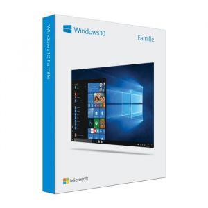 Windows 10 Famille 32/64 bits - Version clé USB pour Windows