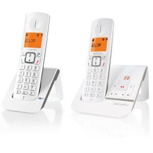 Alcatel Versatis F230 Voice Duo - Téléphone sans fil avec répondeur 2 combinés