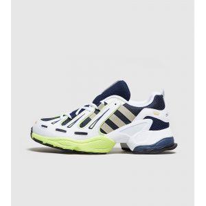 Adidas EQT Gazelle, Chaussures de Gymnastique Homme, Bleu Collegiate Navy/Gold Met./Solar Yellow, 40 2/3 EU