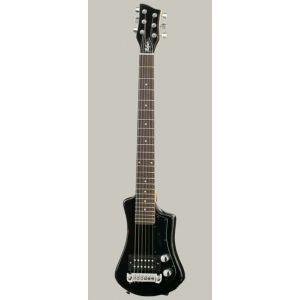 Hofner Shorty CT Black guitare électrique de voyage