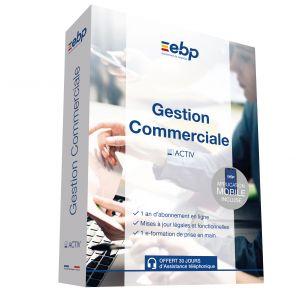 Logiciel Gestion Commerciale Activ Gd Saas 12 Mois + Cmaj [Windows]