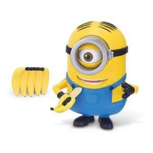 Mondo Figurine Stuart grignote des bananes Minions