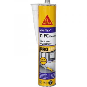 Sika Mastic colle flex 11 FC+ Evolution - Blanc - 300ml