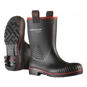 Dunlop Botte de sécurité Rocker, Taille 48, noir