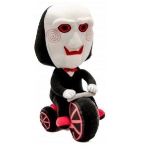 Mezco Peluche Saw : Billy The Puppet sur son tricycle
