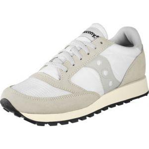 Saucony Jazz Original Vintage chaussures Hommes blanc beige T. 42,0