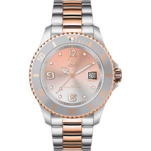 Ice Watch Ice-Watch - ICE steel Silver sunset rose-gold - Montre argent pour femme avec bracelet en metal - 016769 (Medium)