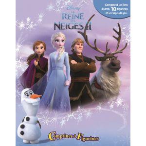 Editions Phidal La Reine des Neiges 2 - Comptines et Figurines