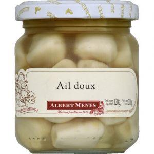 Albert ménès Ail doux - Le pot de 120 g net égoutté