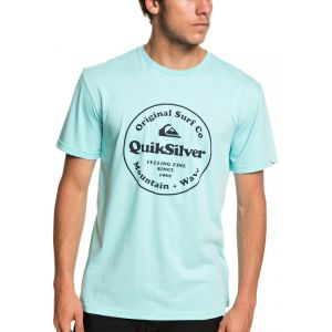 Quiksilver SECRET INGREDIENT SS BLEU TURQUOISE - BLEU TURQUOISE - homme - TEE SHIRT
