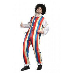 Déguisement clown poignardé homme XL