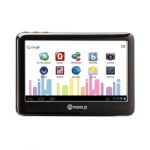 "Memup Pocketpad - Mini tablette 4,3"" 8 Go sur Android 2.3"