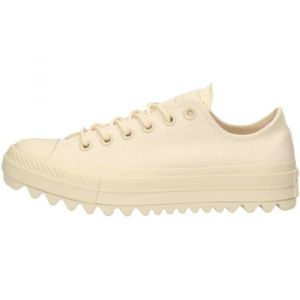 Converse Chuck Taylor CTAS Lift Ripple Ox Canvas, Chaussures de Fitness Femme, Blanc Natural 100, 35 EU