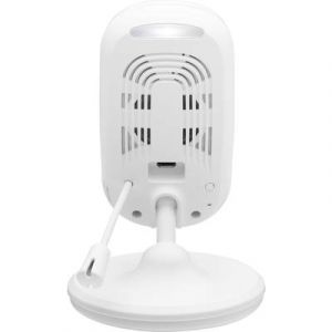 Motorola Focus 68 - Caméra de Surveillance Domestique HD 720p - Surveillance WiFi Via Smartphone pour la Maison - Blanc