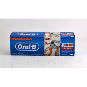 Oral-B Dentifrice Junior Star Wars +6 ans Menthe Douce 75ml