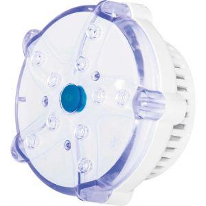 Bestway Voyant LED à piles - 7 couleurs - Diamètre 9,20 cm - Blanc