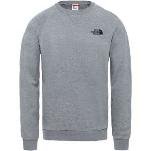 The North Face Raglan Simple Dome T- T-Shirt Manches Longues Homme, Gris (TNF Medium Grey Heather), XL