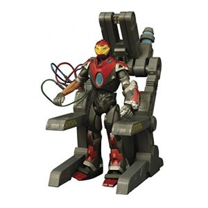 Diamond Select Toys Figurine Iron Man Ultimate Marvel Select 18 cm