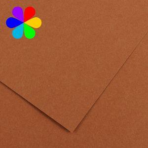 Canson 200040810 - Feuille Iris Vivaldi A4 240g/m², coloris noisette 33