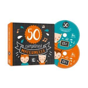CD comptines : 50 plus belles comptines de maternelle