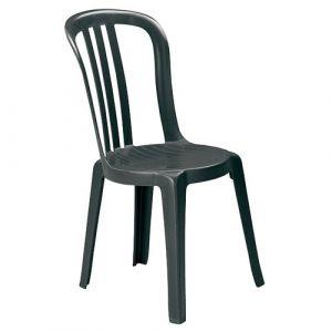 Grosfillex Chaise Miami Bistrot Anthracite