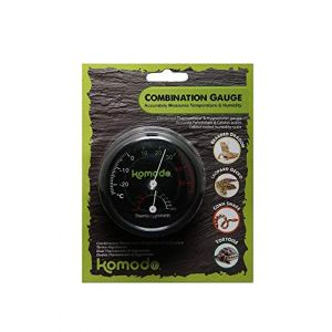 Komodo Thermomètre/hygromètre analogique