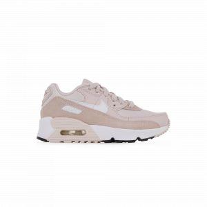 Nike Chaussure Air Max 90 pour Jeune enfant - Rose - Taille 35.5 - Unisex