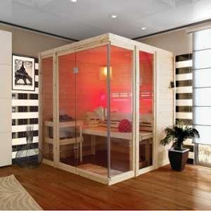 Sauna traditionnel d'intérieur Paavo 4 à 5 places 40mm Karibu