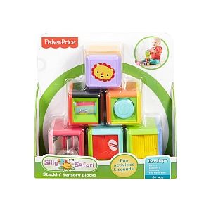 Fisher-Price Silly Safari Cubes