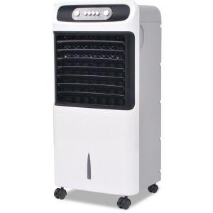 VidaXL Refroidisseur d'air mobile 80 W 12 L 496 m³/h