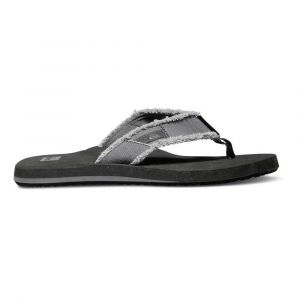 Quiksilver Monkey Abyss M Sndl Xskc, Tongs homme, Gris (Insole: BLACK / Upper: Grey), 46