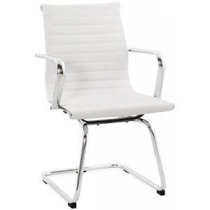 Chaise de Bureau Oméga Blanc