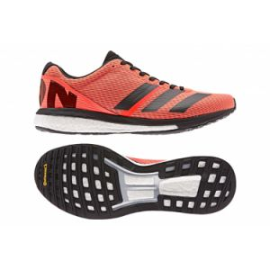 Adidas Chaussures de running adizero boston 8 orange noir 44 2 3