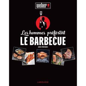 """Weber 318022 - Livre de recettes """"Les hommes préfèrent le barbecue"""""""