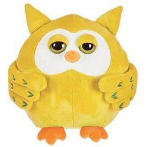 Décar Peluche Hibou jaune 30 cm