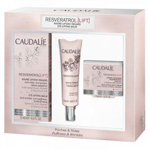 Caudalie Resveratrol - Coffret crème yeux + sérum + crème