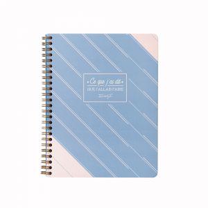 Mr Wonderful Mr. Wonderful WOA09056FR Planning hebdomadaire - au format cahier