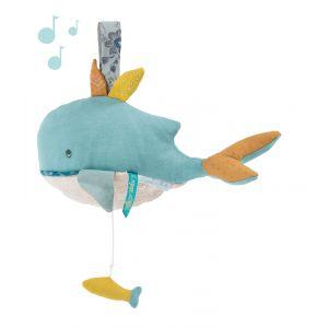 Moulin roty Peluche musicale Joséphine la baleine Le Voyage d'Olga