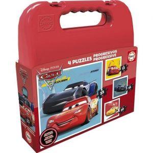 Educa Cars 3 - Malette puzzles progressifs