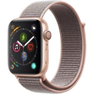Apple Watch Series 4 - 44mm - Alu Or / Boucle Sport Rose des sables