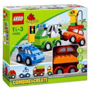 Image de Duplo 10552 - Briques : Set de voitures à construire