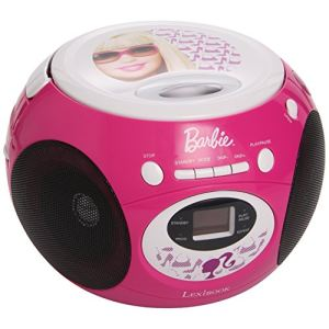 Lexibook RCD102BB - Poste radio CD Barbie