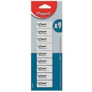 Maped 9 gommes - Technic 300