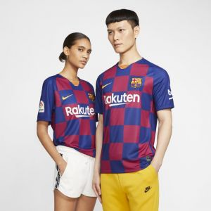Nike Maillot de football FC Barcelona 2019/20 Stadium Home pour Homme - Bleu - Taille M - Male