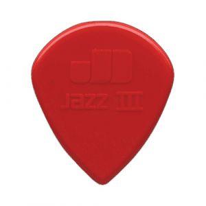 Dunlop Eric Johnson Jazz III Pick Classic, lot de 6, rouge