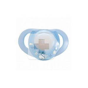 Chicco Tétine anatomique en caoutchouc 0 M+ bleu 1u