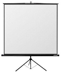 Reflecta 87654 - Crystal-Line Stativ 125 x 125 cm - Ecran de projection sur pied 1:1