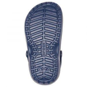 Crocs Classic Lined Clog Kids, Sabots Mixte Enfant, Bleu (Navy/Charcoal 459), 30/31 EU