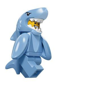 Lego Figurine Serie 15 : Homme-requin